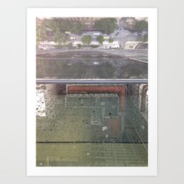 Raining in Rio Art Print
