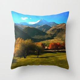 Kazbek Throw Pillow