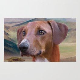 Azawakh Sighthound Rug