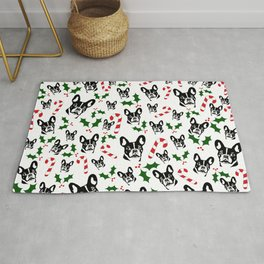 CHRISTMAS GIFTS, FRENCH BULLDOG LOVERS GIFT WRAPPED FROM MONOFACES IN 2020 Rug