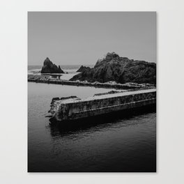 Sutro Baths Ruins Canvas Print