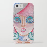 poker iPhone & iPod Cases featuring poker face by Scenccentric Creations