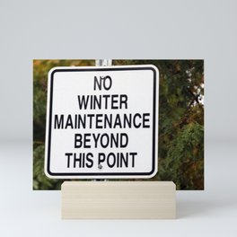 maintenance Mini Art Print