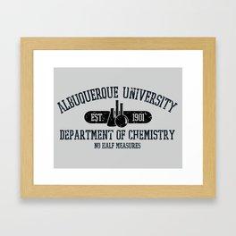 Respect the Chemistry Framed Art Print