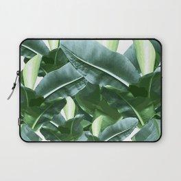 Banana plant | Jungle vibe | Wall hanging | Art print | Digital art Laptop Sleeve