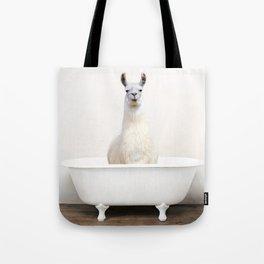 llama Bath (c) Tote Bag