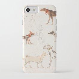 Egyptian Dog Breeds iPhone Case
