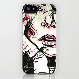 Ink Thoughts iPhone Case