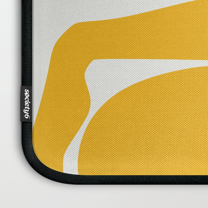 Yellow anatomy Laptop Sleeve
