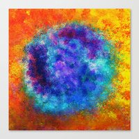 Plasmic Earth Number One Canvas Print