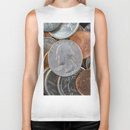 Coins Biker Tank
