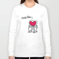 keith haring Long Sleeve T-shirts featuring Keith Allen Haring Shirt by cvrcak