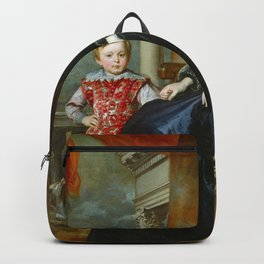 """Sir Anthony van Dyck """"A Genoese Noblewoman and Her Son"""" Backpack"""