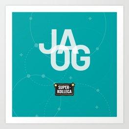 JA OG Art Print