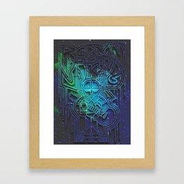 Rockin' Viking Framed Art Print