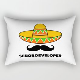 Senior Developer Rectangular Pillow