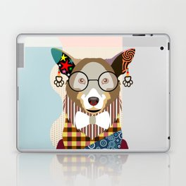 Pembroke Welsh Corgi Laptop & iPad Skin