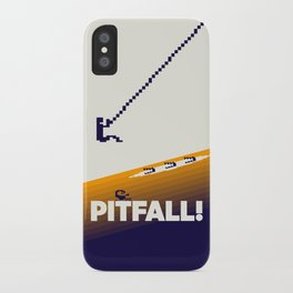 Pitfall iPhone Case