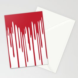 Blood Drippings Stationery Cards