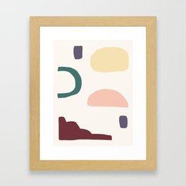 Blobby No. 8 Framed Art Print