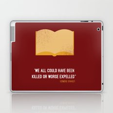'we all could have been killed or worse expelled'' Hermione Laptop & iPad Skin