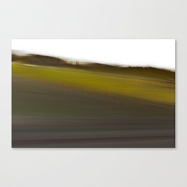 The World Coming Undone II Canvas Print