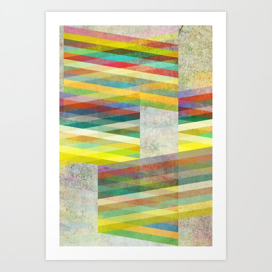 Graphic 9 Art Print