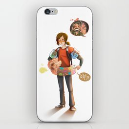 ELLIE can't swim iPhone Skin
