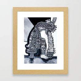 THE HANGOVER BLUES Framed Art Print