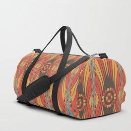 Geometric extravaganza pattern Duffle Bag