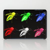 insects iPad Cases featuring Neon insects by LoRo  Art & Pictures