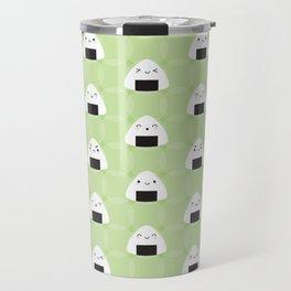 Kawaii Onigiri Rice Balls Travel Mug