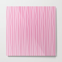 Pink 7 Metal Print