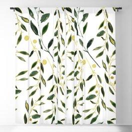 Goldy Green Blackout Curtain