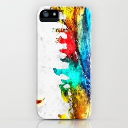 The Fellowship of the Ring Grunge iPhone Case