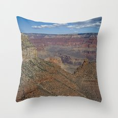 The Grand Canyon Dry Color Throw Pillow