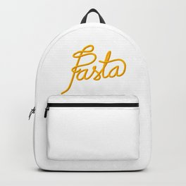 Pasta   [color] Backpack