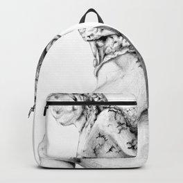 Greek Medusa Statue Backpack