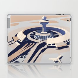 Soviet Modernism: Zvartnots airport, Armenia Laptop & iPad Skin