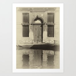 Venice Reflections Art Print