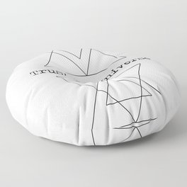 Trust the Universe Floor Pillow