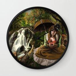 Steampunk Snow White Wall Clock
