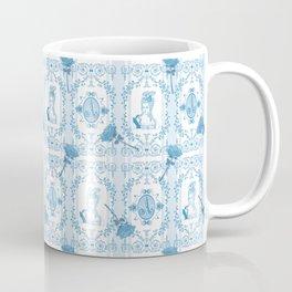 Marie-Antoinette Monogram (Aqua) Coffee Mug