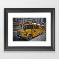 Cheese wagon Framed Art Print