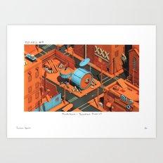 POP HELL #9 Art Print