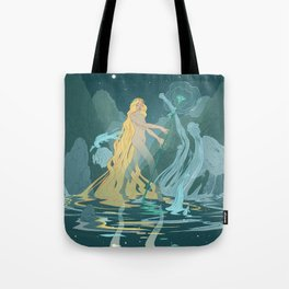 Nymph of the river Tote Bag