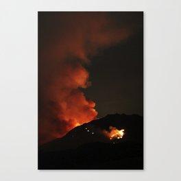 El Diablo Fire Canvas Print