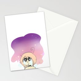 space view Stationery Cards