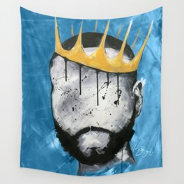Naturally King BLUE Wall Tapestry