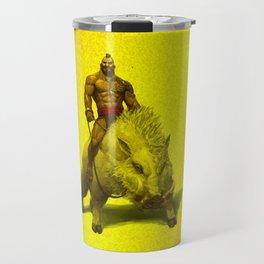 hog rider Travel Mug